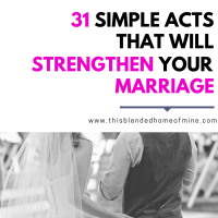 31 Small Acts that Will Strengthen Your Marriage