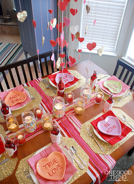 Valentines Day for the Whole Family - Family Dinner
