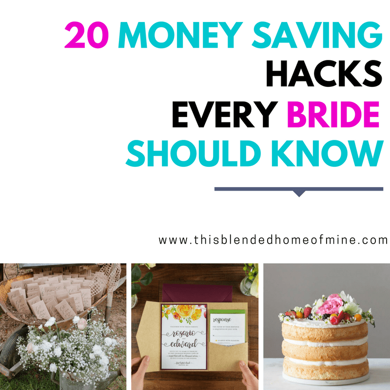 20 Clever Ways to Save Money on Your Wedding