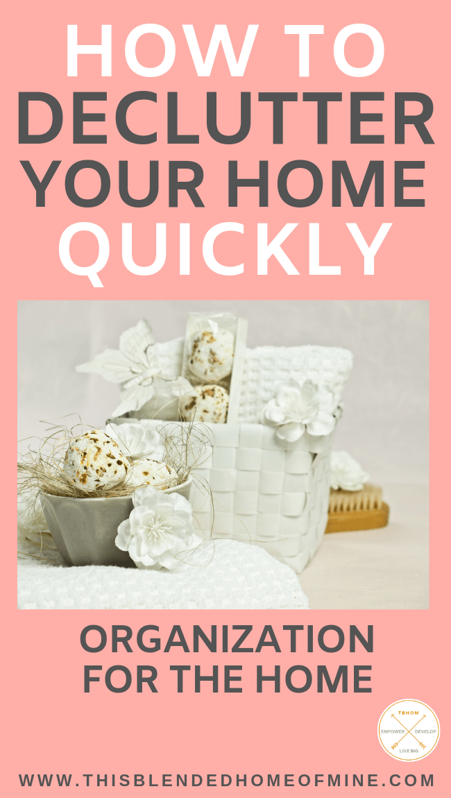 How to Declutter Your Home Fast - 50 Things to Throw Out - This Blended Home of Mine - how to get rid of things you don't need