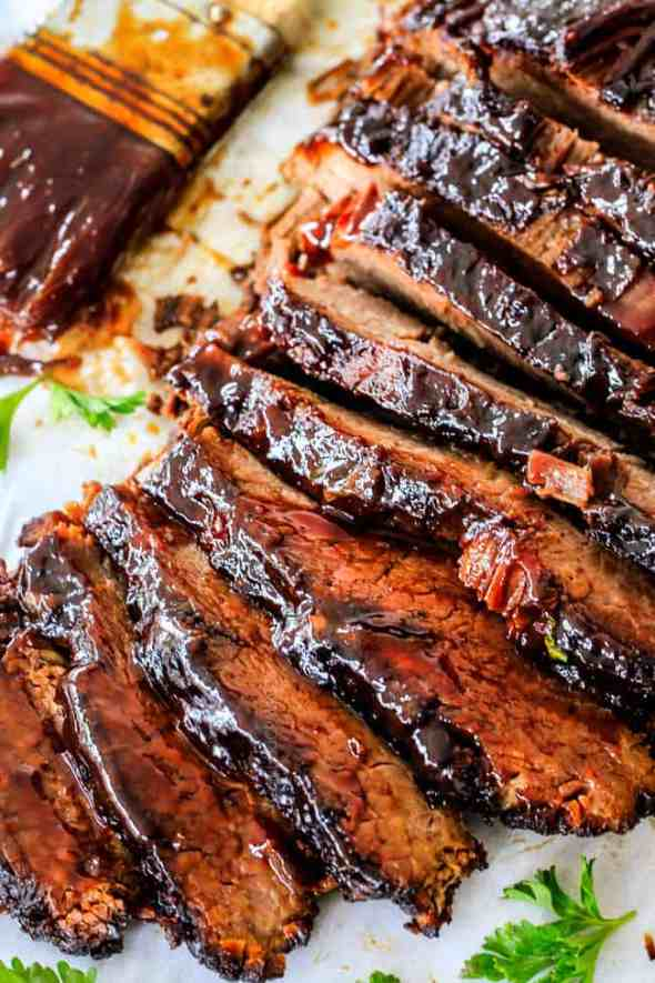 Easy Slow Cooker Recipes - BBQ Beef Brisket