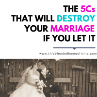 The 5 C's That Will Destroy Your Marriage