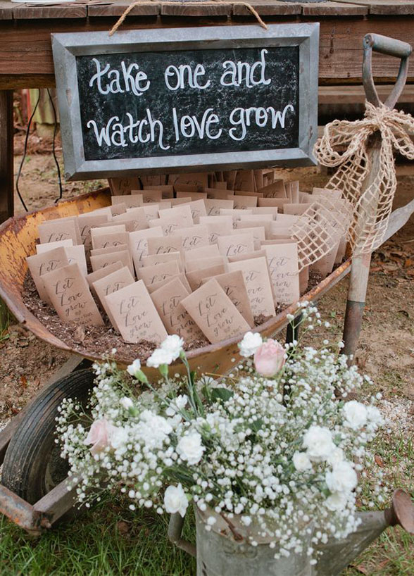 Wedding on a Budget - Plants and Flower seeds