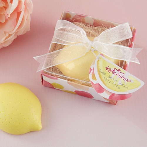 Wedding Favors That Won't Blow Up Your Budget - Lemon Soap Favor
