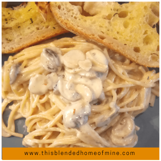 Instant Pot Pasta Alfredo - This Blended Home of Mine - instant pot pasta, alfredo sauce, spaghetti