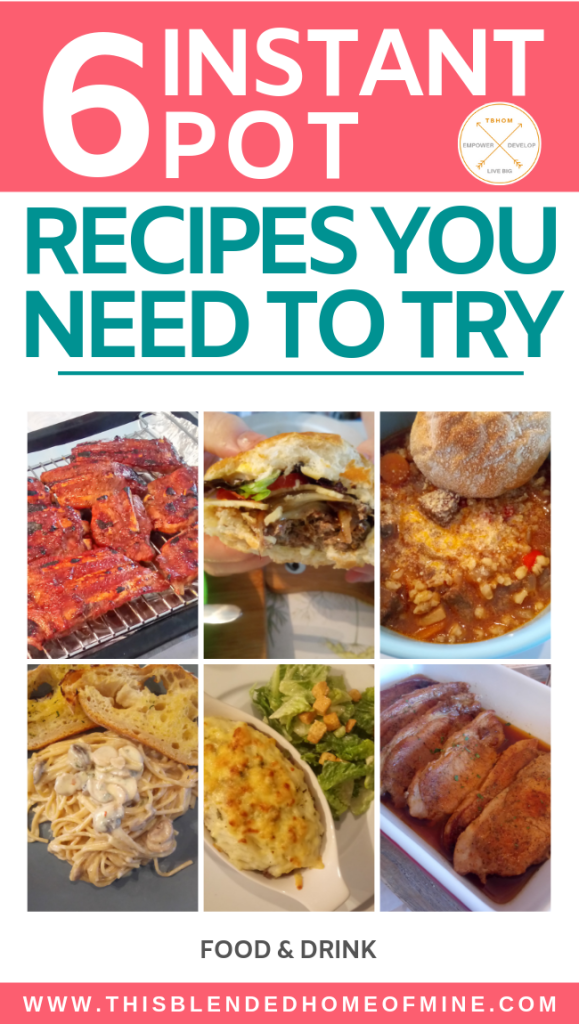 Instant Pot Recipes You Need to Try - This Blended Home of Mine - Pressure Cooker Recipes, Instant Pot Recipes