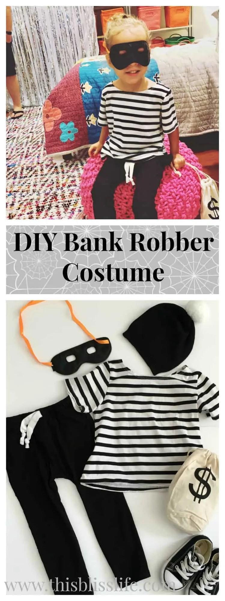 DIY Toddler Bank Robber Costume DIY Toddler Bank Robber Costume & DIY Toddler Bank Robber Costume! - This Bliss Life