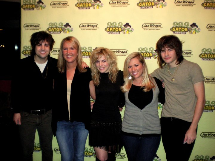 Band Perry March 2010