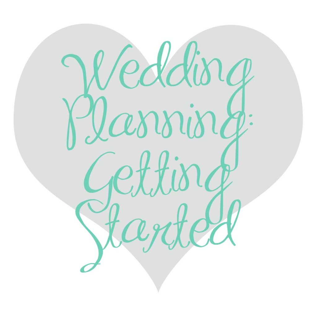 Wedding Bells: Planning is officially underway!