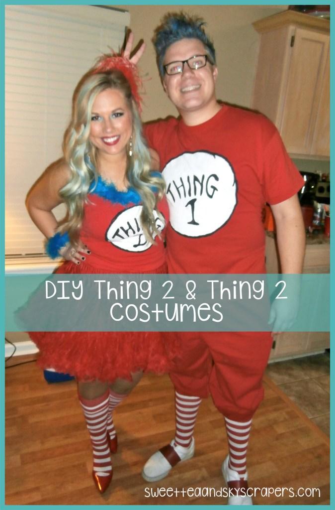 "DIY ""Thing"" Halloween Costume"