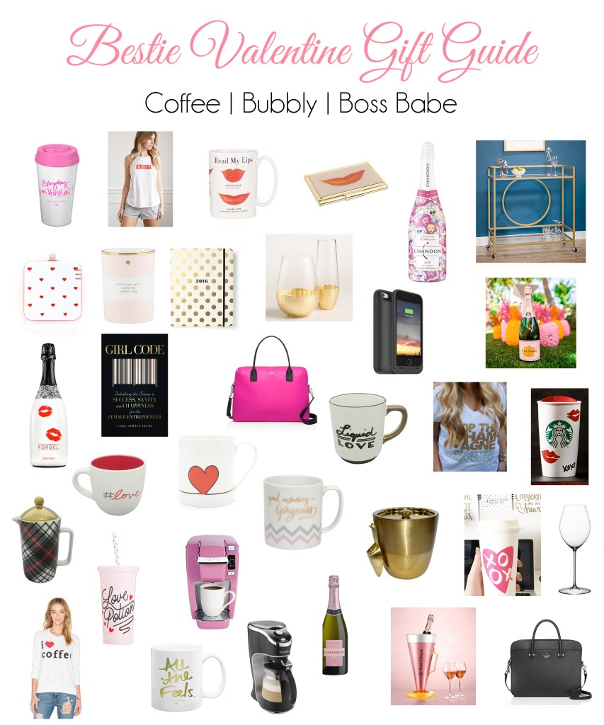 GALentine's Gift Guide for Your Bestie | Part 2: Coffee, Boss Babe and Bubbly + Giveaway!