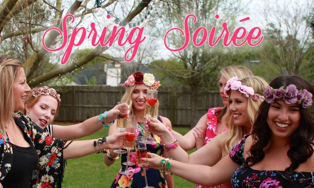 Spring Soiree: Decor, Fashion, Makeup & More | Vlog
