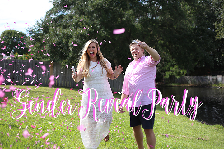 Confetti Gender Reveal Party VLOG