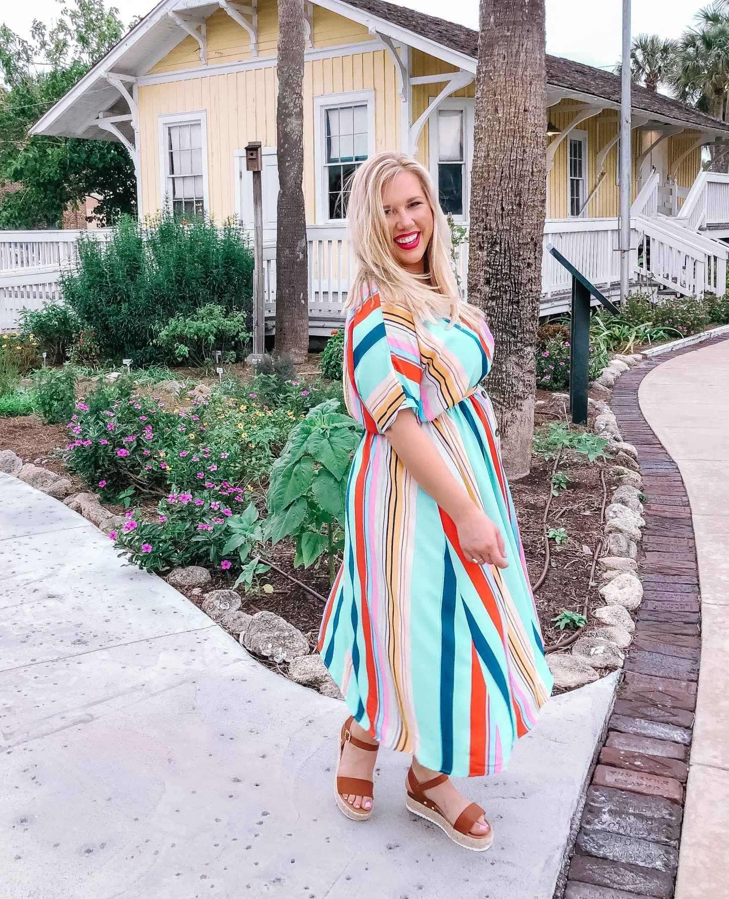 Spring Style with Versona | Stripes + Colors