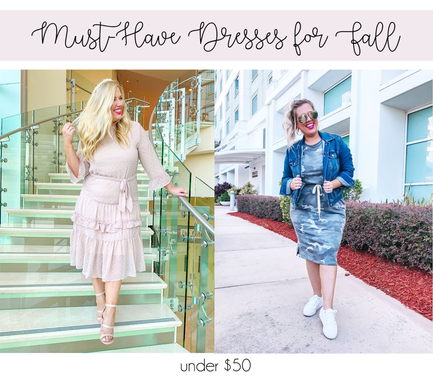 Two Must-Have Dresses for Fall