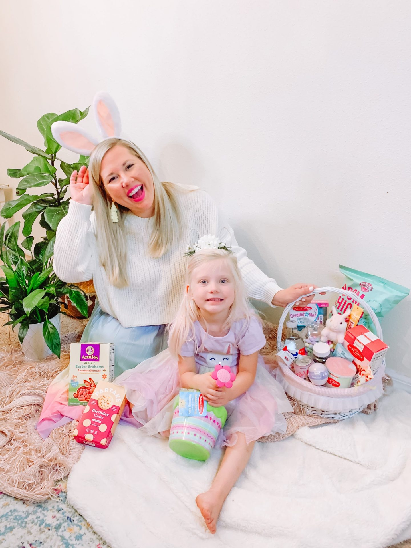 Easter Basket Idea for Kids with Healthy Snacks and Family-Fun Activities
