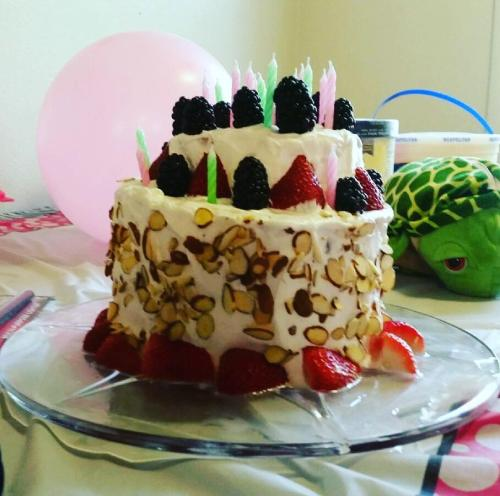 Watermelon cake is a delicious, guilt-free treat.