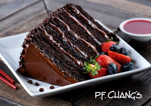 Delicious Chocolate Cake from PF Changs