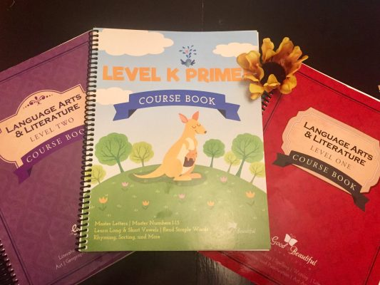 Levels 1, 2, and K Primer from the Good and the Beautiful
