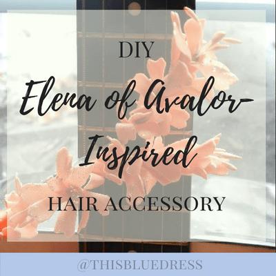 DIY Elena of Avalor-Inspired Hair Accessory