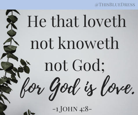 For God Is Love scripture verse