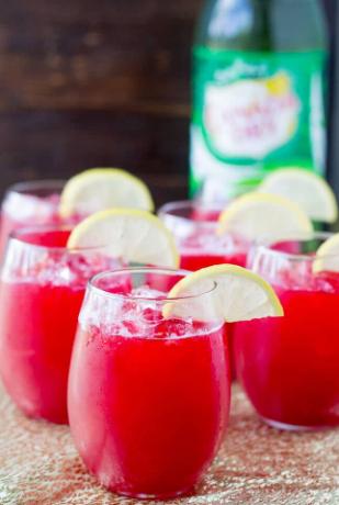 Raspberry Lemonade Fizz by Culinary Hill