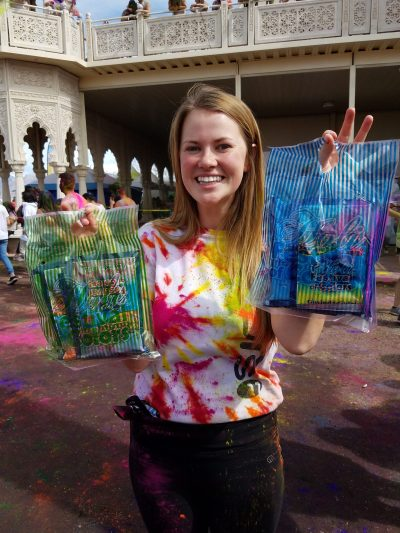 Purchase your color packets at the Festival of Colors
