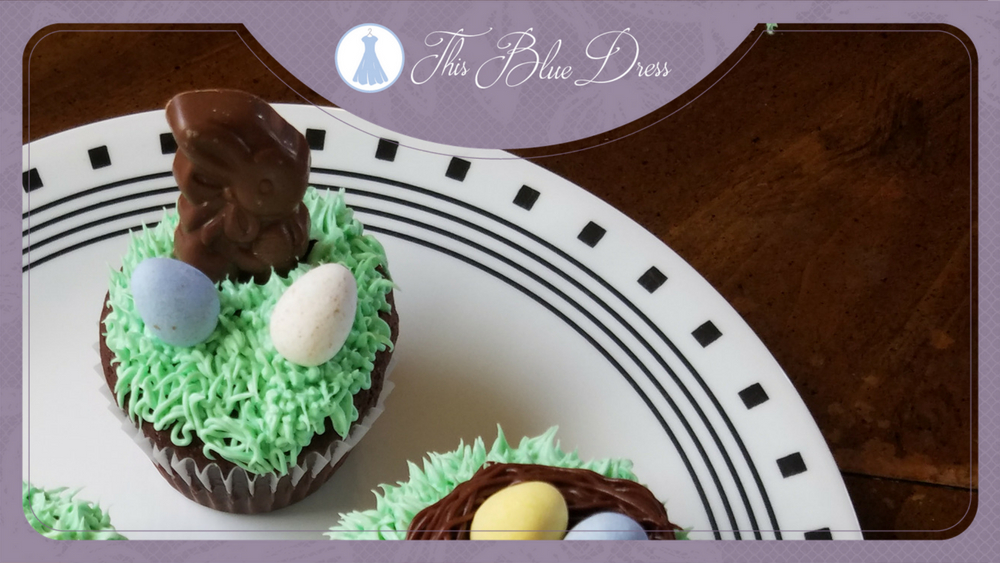 DYI Easter Cupcakes
