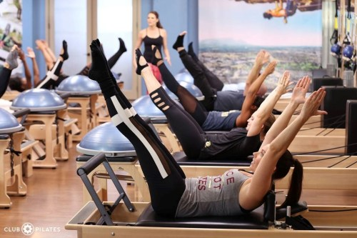 Pilates stations at Club Pilates