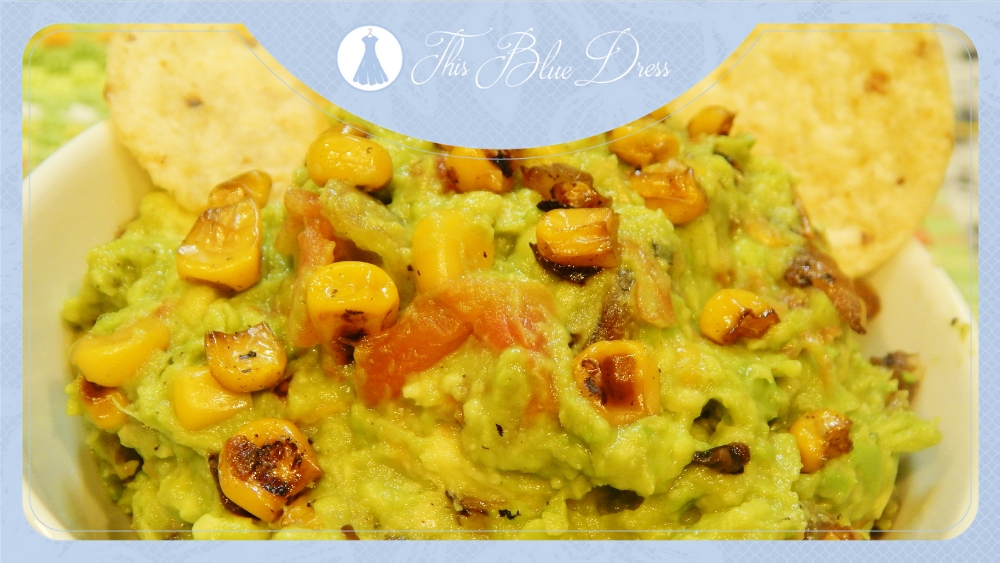 Fire-roasted Corn Guacamole