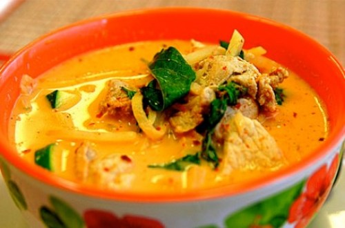 Red Thai Chicken and Pumpkin Curry from Marcus Samuelsson