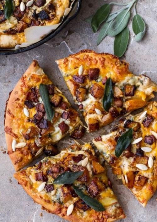 Pumpkin Pizza from Half Baked Harvest