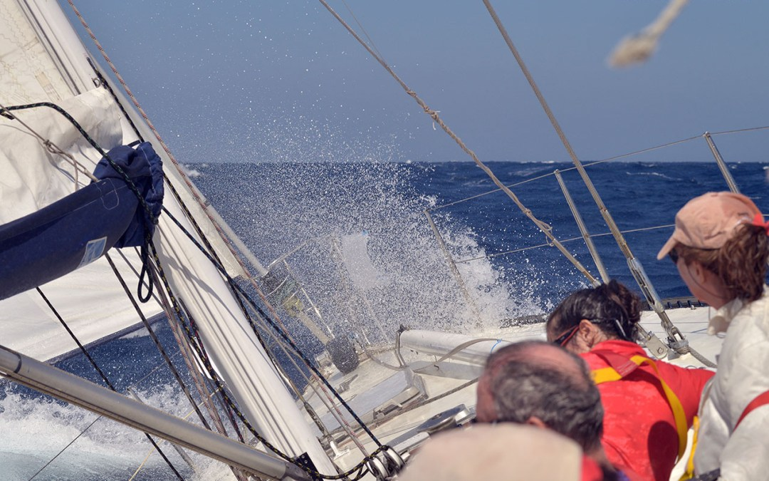 Cyclades Regatta 2017: A thrilling sail from Paros to Serifos