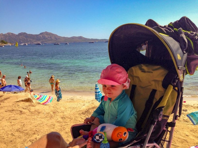 holidays in mallorca with a baby