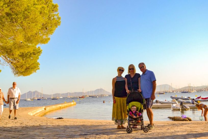holiday mallorca with a baby