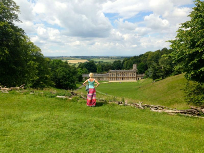National Trust Dyrham Park near Bath