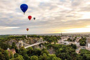 Bristol bridge and balloons and clifton3 _angharad paull