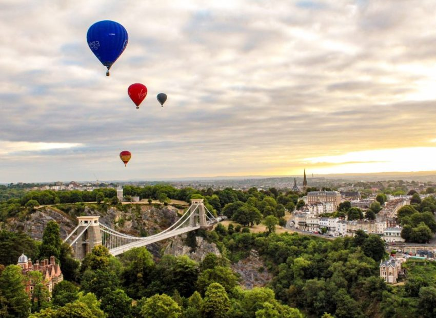 Bristol bridge and balloons and clifton3 _angharad paull