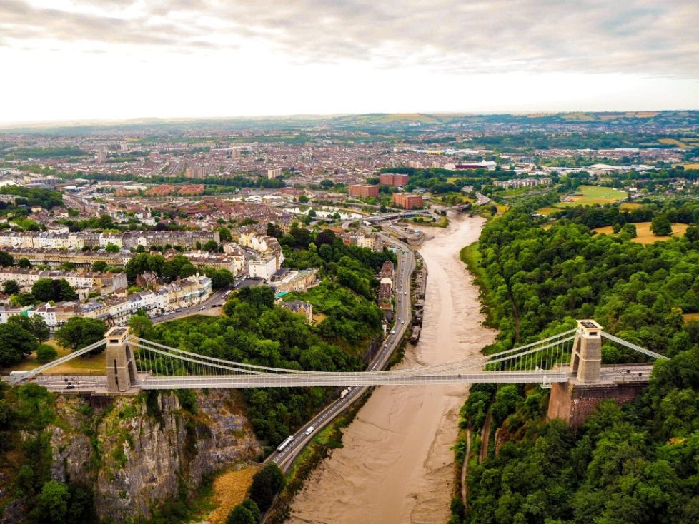Clifton Suspension Bridge from above_angharad paull