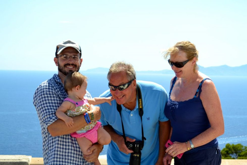 multi generational travel mallorca - family holiday with grandparents
