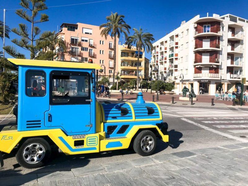 Moraira tourist train