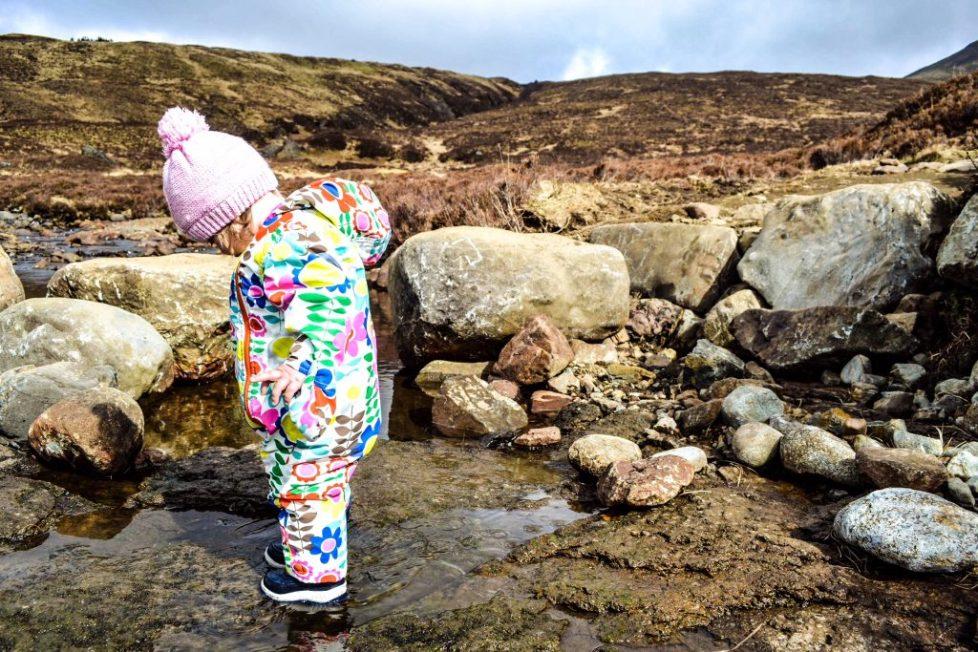 Isle of Skye Outdoor Activities for Children - Fairy pools
