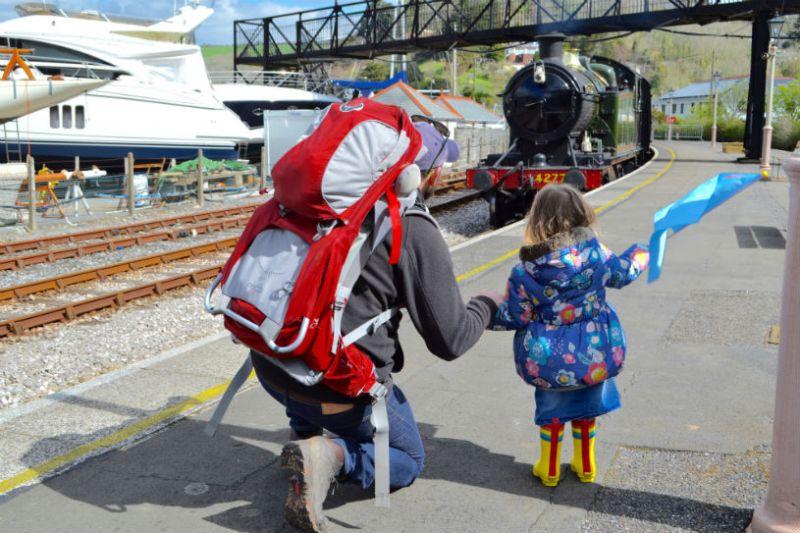 Dartmouth steam railway, Kingswear, Devon