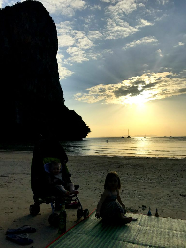 Railay Bay Thailand - 10 Tips for flying long haul with a baby and a toddler