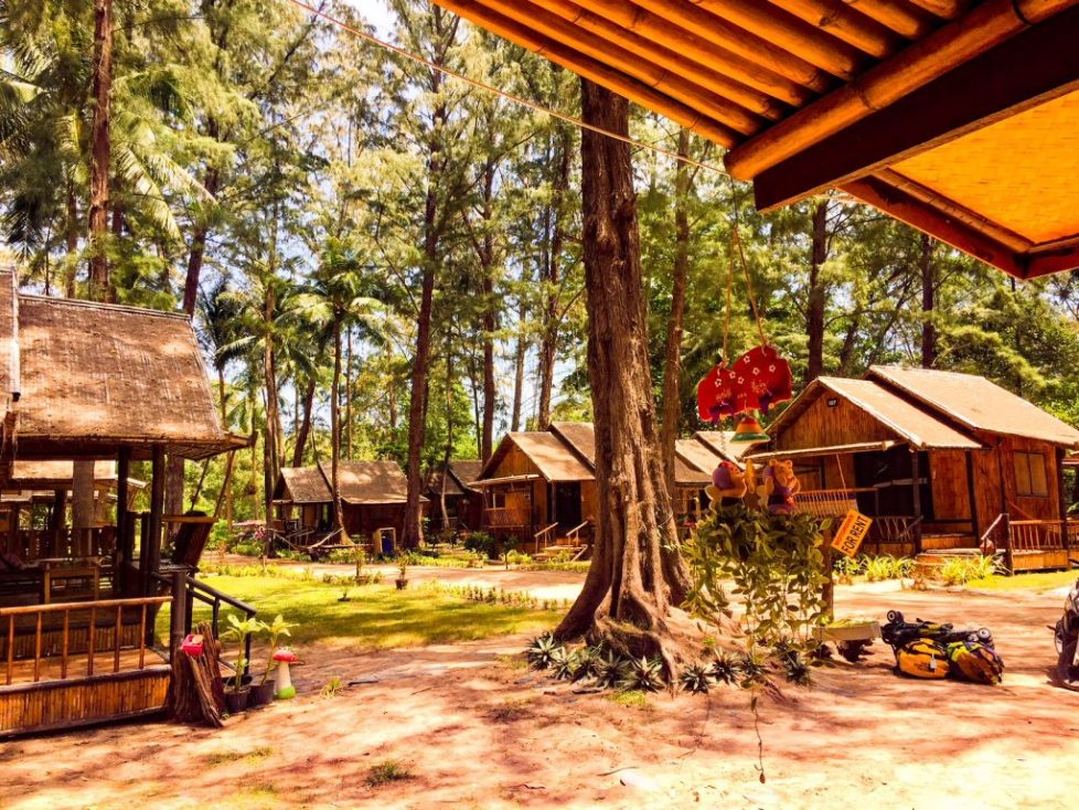 Eco Lanta, Koh Lanta accommodation on the beach, family-friendly places to stay thailand