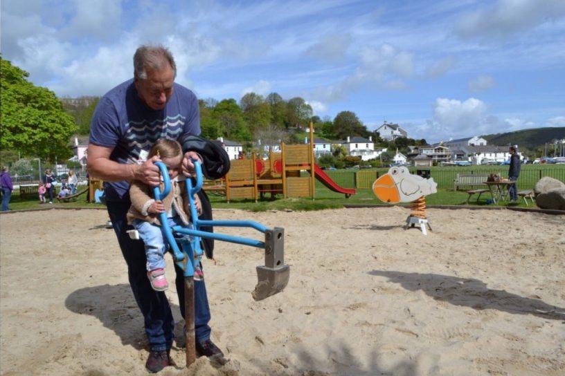Kids playground Dartmouth Devon
