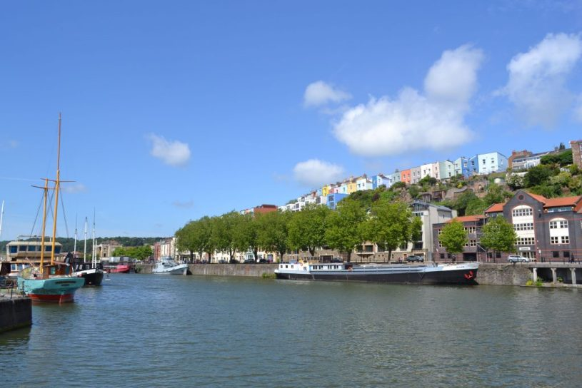 Britain heatwave - how to stay cool in bristol