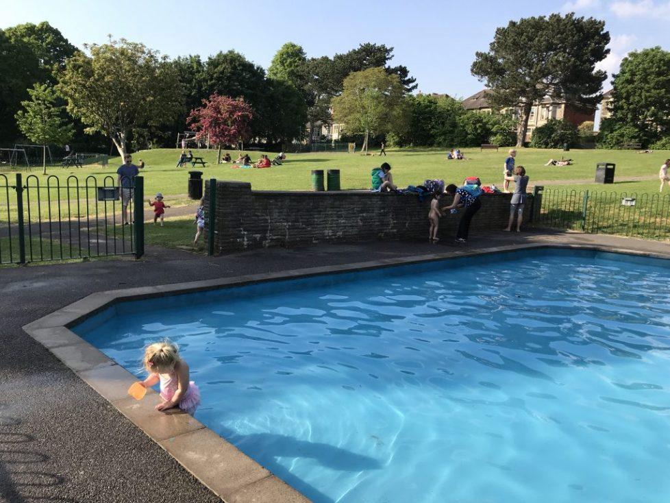 St Andrews Park - ways to cool down in Bristol in a heatwave: Free activities in Bristol