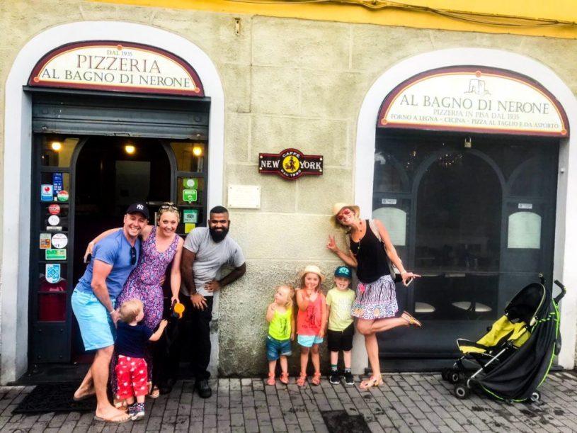 Family-friendly Restaurant Pisa Tuscany Italy
