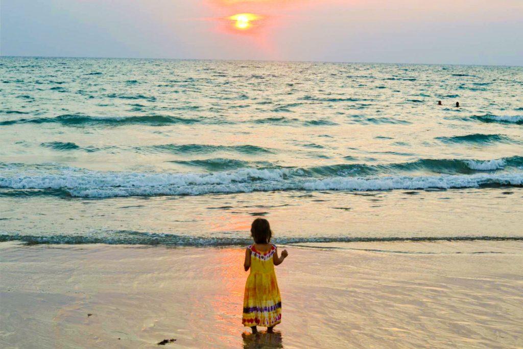 Koh Lanta Thailand sunset